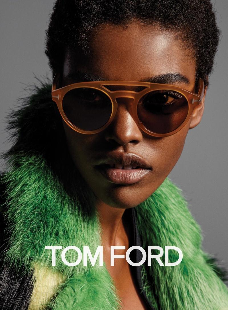 Tom Ford fall 2016 eyewear campaign