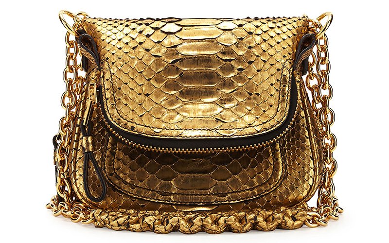 Tom Ford Jennifer Mini Python Shoulder Bag