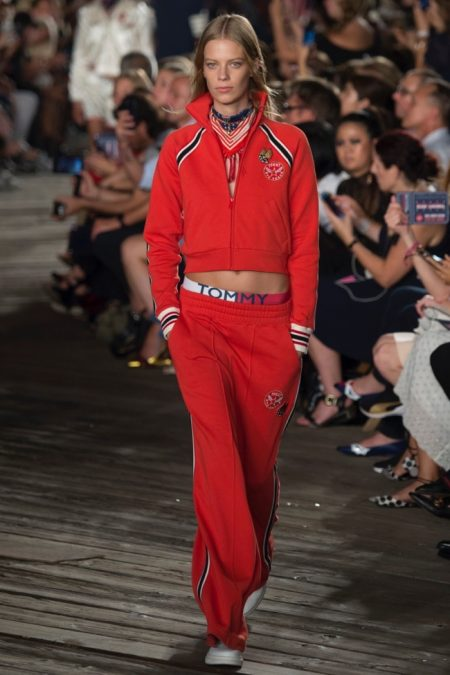 Tommy Hilfiger Does Athleisure for Fall 2016