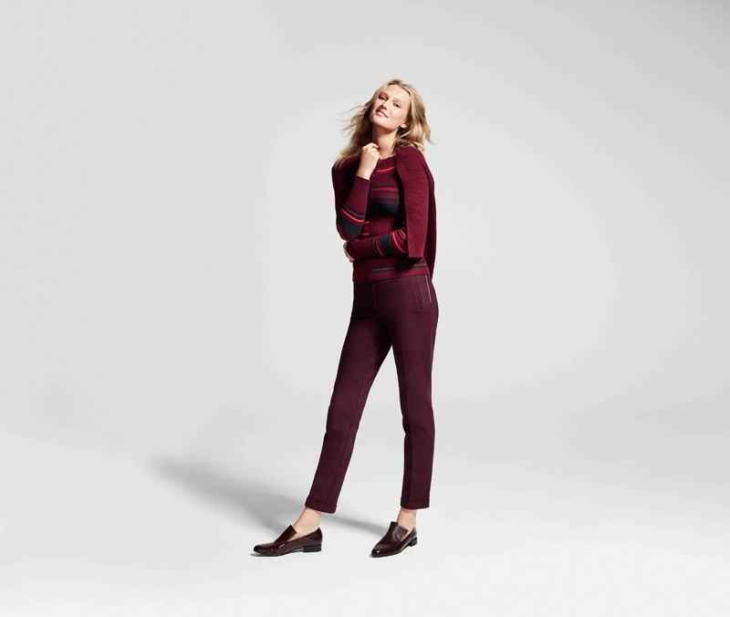 Toni Garrn stars in Lindex's Fall Fashion Heroes 2016 campaign