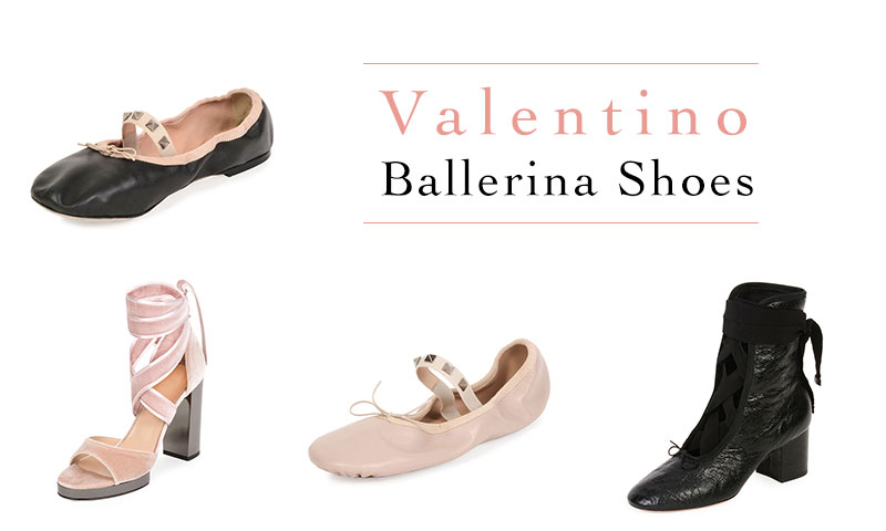 Be On Pointe with Valentino's Ballerina Inspired Shoes