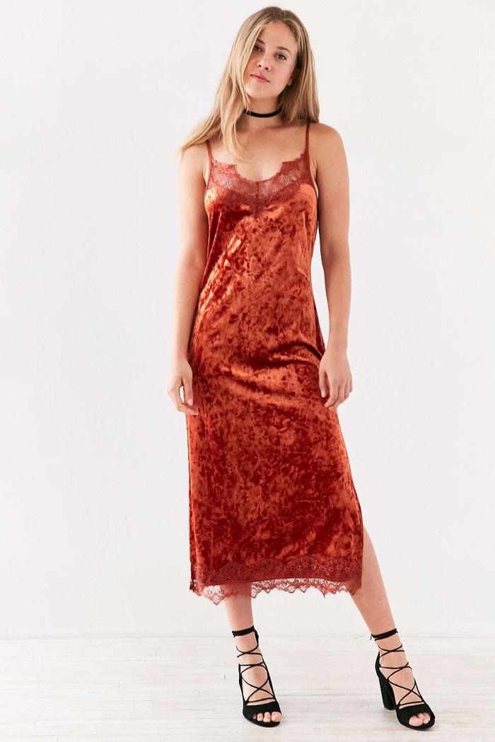 Velvet Dresses Fall Winter 2016 Trend Shop