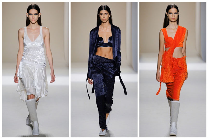 Victoria Beckham Takes On Pajama Dressing for Spring '17