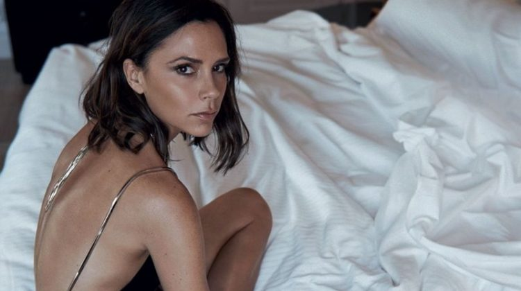 Victoria Beckham Stars in Vogue UK, Recalls Her 90's Style