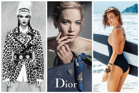 Week in Review | Jennifer Lawrence for Dior, Miranda Kerr's Swimsuit Ads, Kendall Jenner's Latest Vogue Cover + More