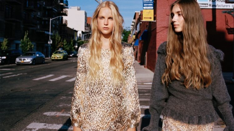 Zara Turns on the Shine Factor with New Lookbook