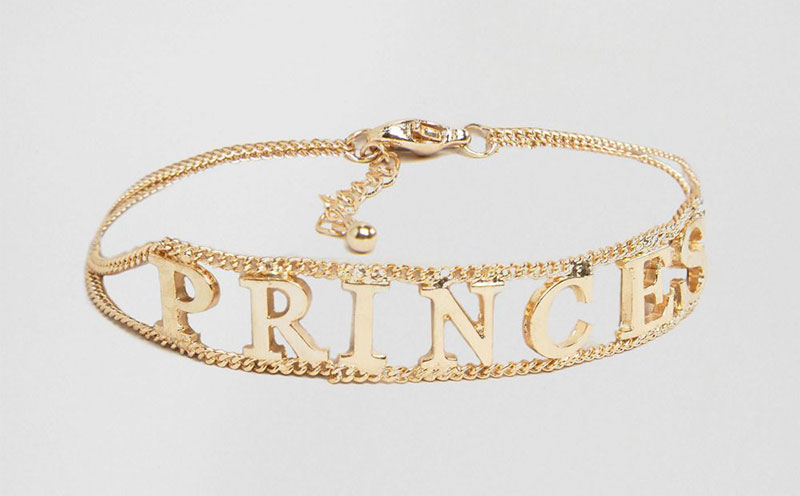 ASOS x WAH London Princess Bracelet
