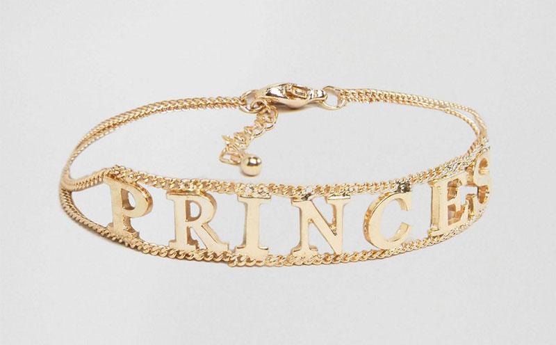 ASOS x WAH London Princess Bracelet