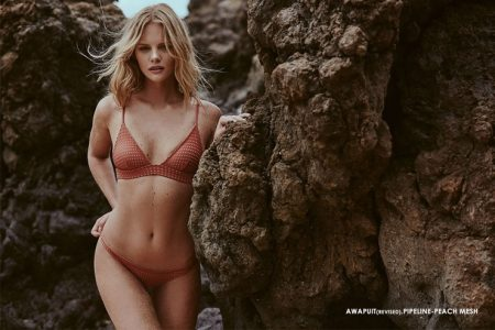 Marloes Horst Smolders in ACACIA Swimwear's 2017 Collection