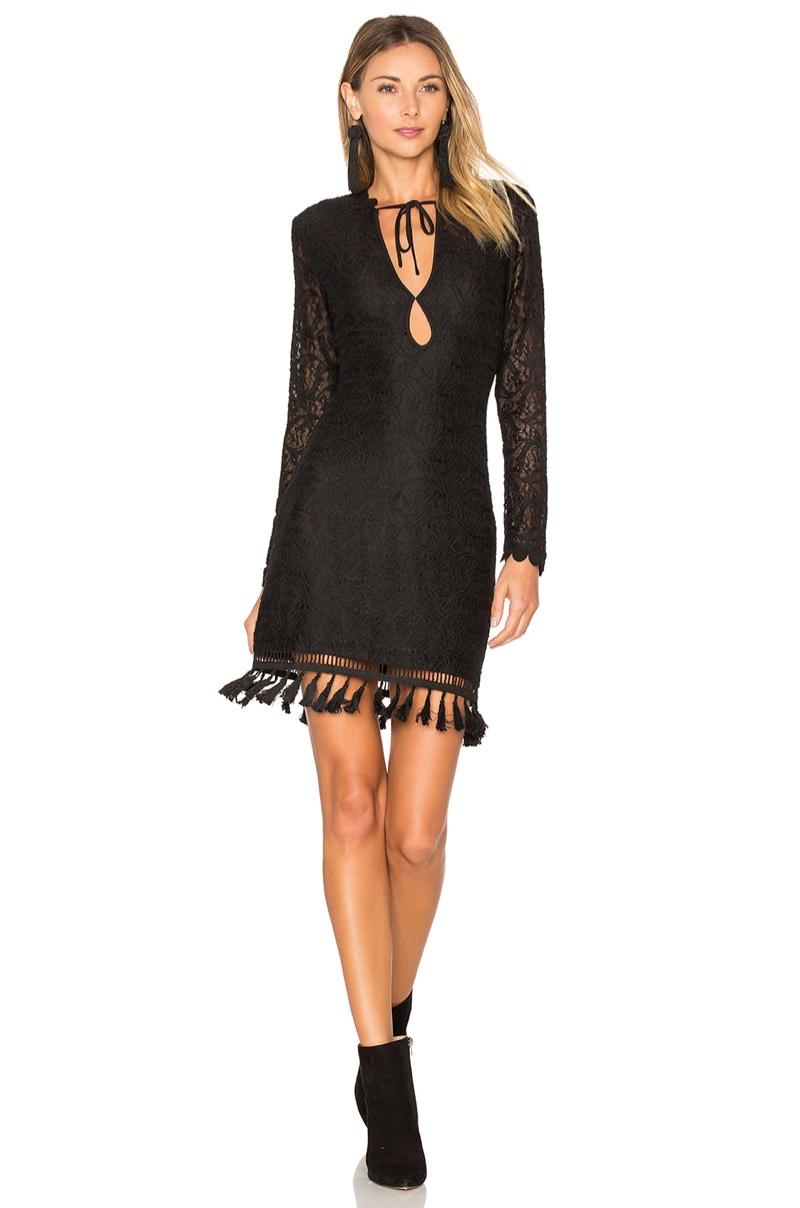 Lady in black: Ale by Alessandra x REVOLVE Genoveva Dress