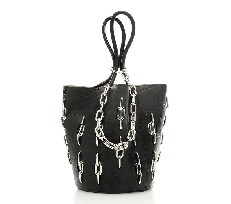 Alexander Wang Roxy Large Tote with Chain inlay