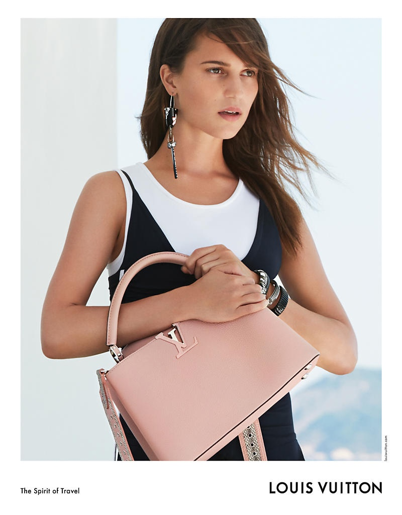 Actress Alicia Vikander lands her third campaign for Louis Vuitton
