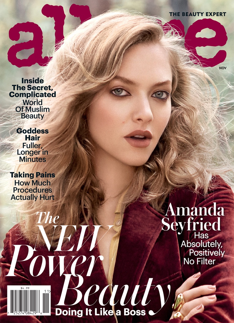 Amanda Seyfried on Allure Magazine November 2016 Cover