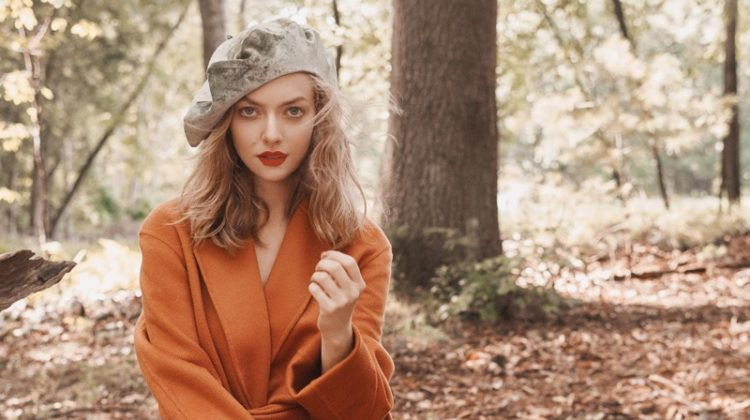 Amanda Seyfried Heads Outdoors in Fall Fashions for Allure