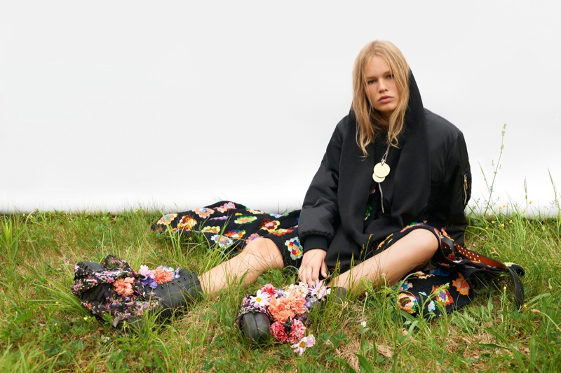 Anna Ewers stars in Self Service's fall-winter issue