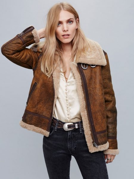 Cover Up in One of These Shearling Jackets