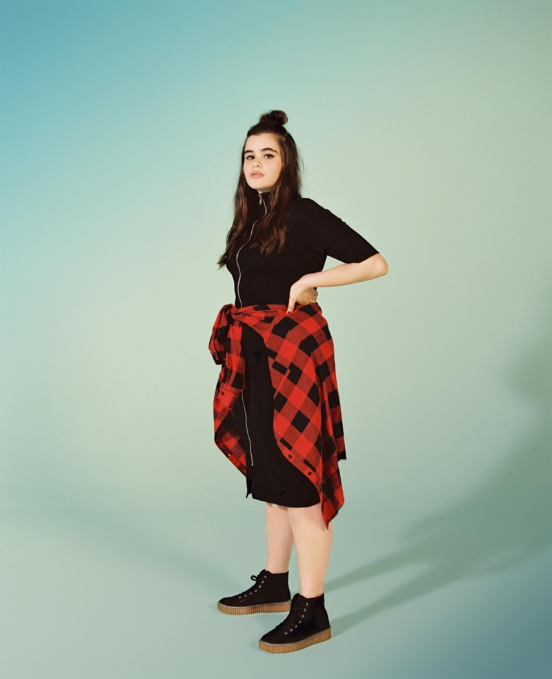 Barbie Ferreira appears in Missguided+'s fall 2016 campaign