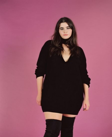 Barbie Ferreira Poses Without Photoshop for Missguided+ Campaign