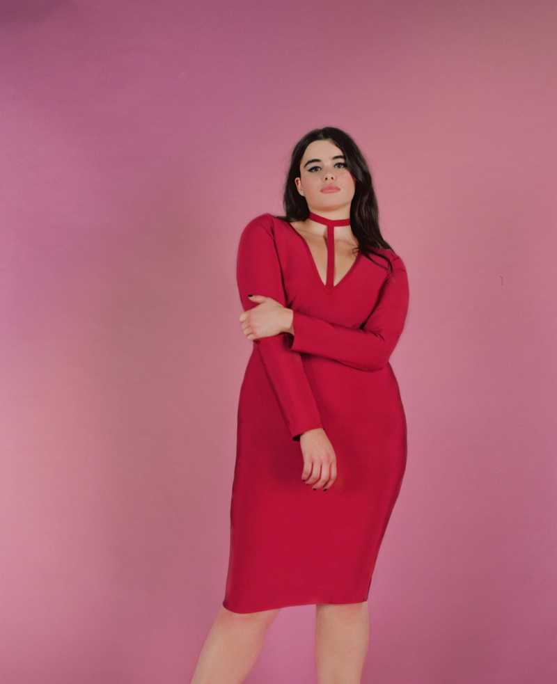 Barbie Ferreira Unretouched Missguided Campaign Fashion