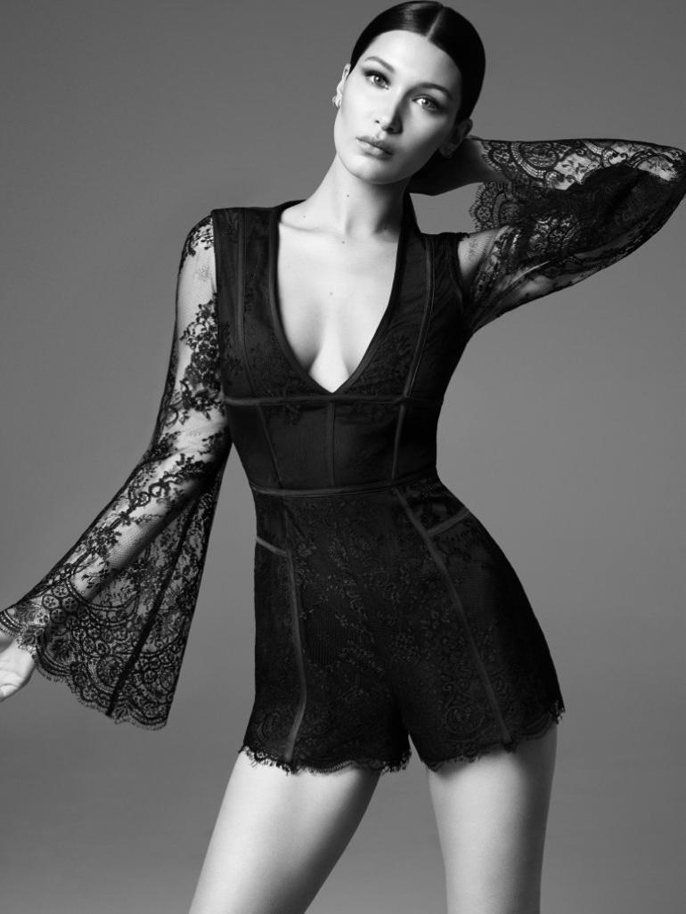 Bella Hadid Stuns in Misha's Bodycon Dresses