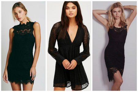 Say It with Lace: 9 LBDs for Party Season