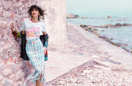 Chanel Heads Seaside for Its Cruise 2017 Campaign