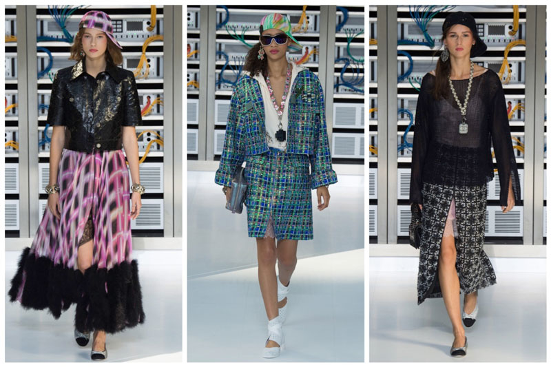 Chanel Goes Tech for Spring 2017