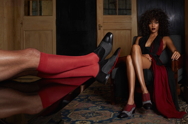 Christian Louboutin Takes on Menswear Styles for 'Woman on Top' Collection