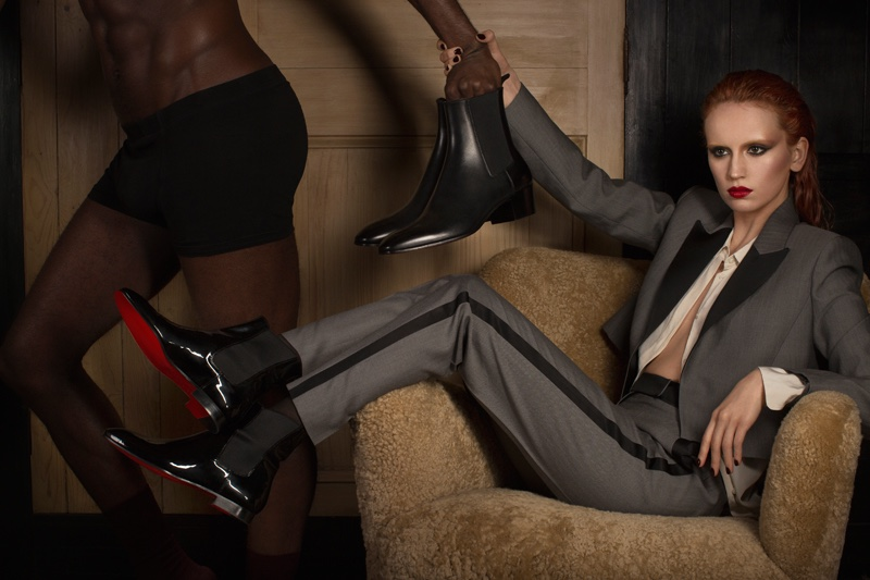 Shoe brand Christian Louboutin focuses on menswear styles for fall-winter 2016