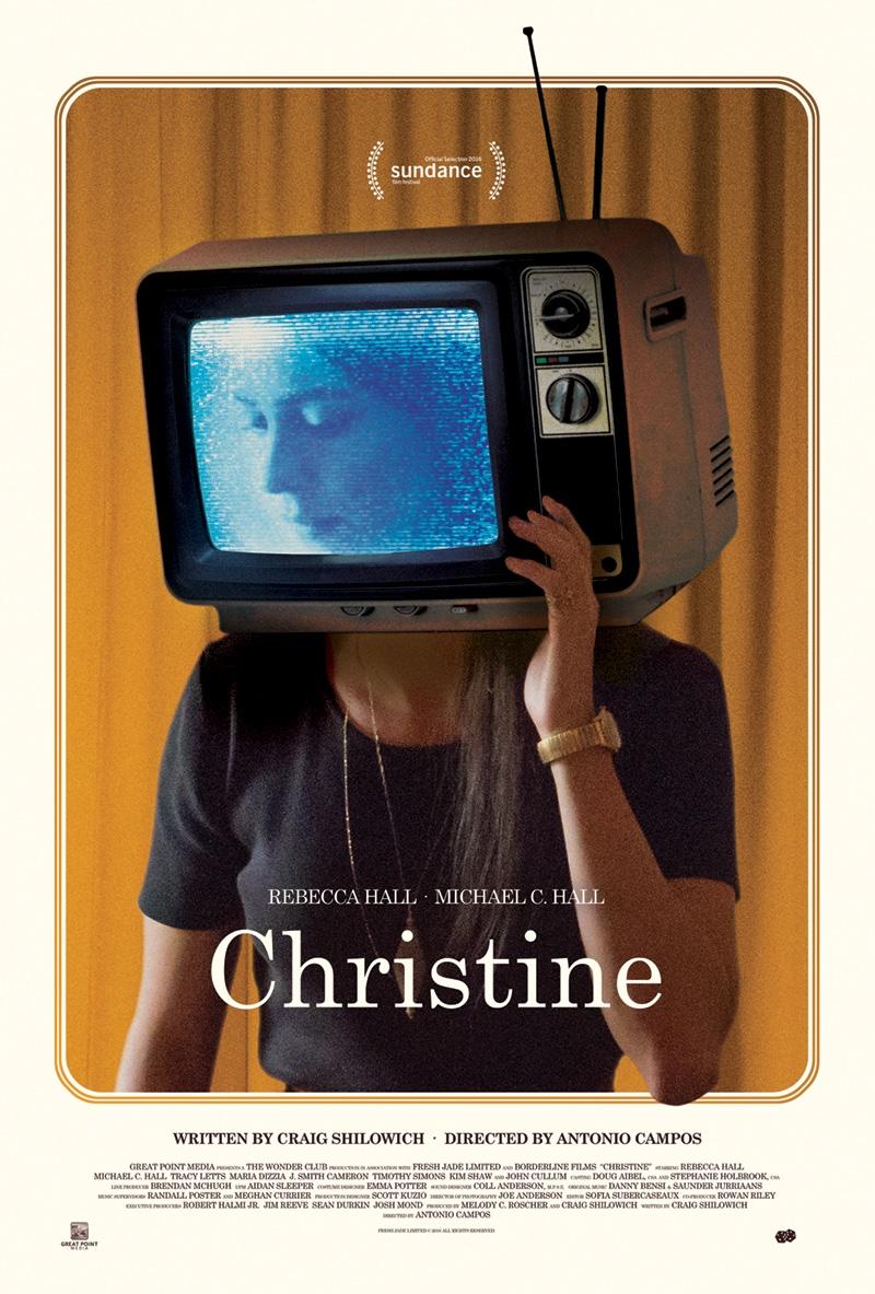 Christine Movie Poster with Rebecca Hall