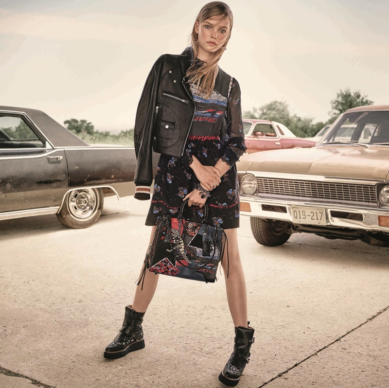 Roos Abels stars in Coach's resort 2017 campaign