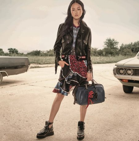 Coach Brings Some Edge to Its Resort 2017 Campaign