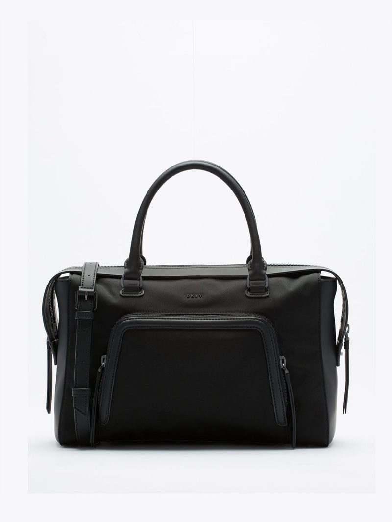 DKNY Tech Nylon Satchel