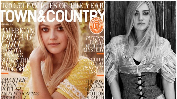 Dakota Fanning Stars in Town & Country, Talks Growing Up in the Spotlight