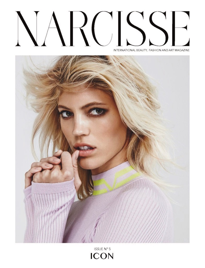 Devon Windsor on Narcisse Magazine Fall/Winter 2016 Cover