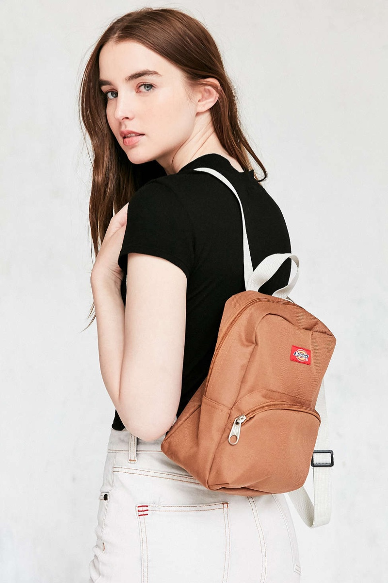 Dickies Mini Backpack in Brown