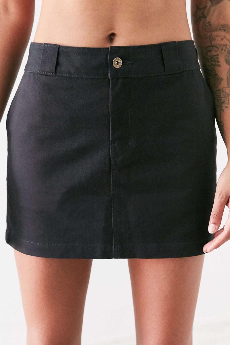 Dickies Twill Mini Skirt