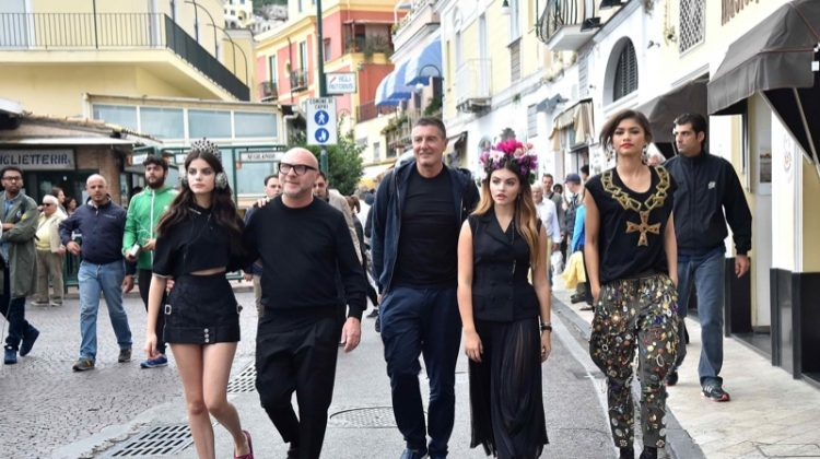 Zendaya & Thylane Blondeau Are Dolce & Gabbana's New Faces - See the Backstage Images!