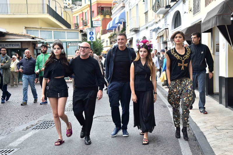 Dolce & Gabbana unveils the faces of its spring-summer 2017 campaign—Sonia Ben Ammar, Thylane Blondeau and Zendaya Coleman