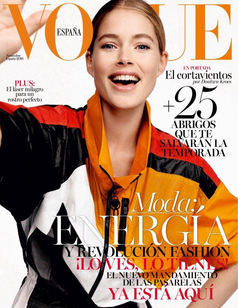 Doutzen Kroes on Vogue Spain November 2016 Cover