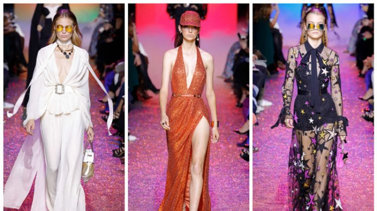 Elie Saab Brings Back Disco for Spring 2017
