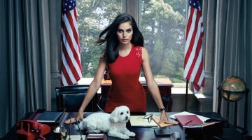Shlomit Malka Makes One Stylish President in Elie Tahari's Fall Ads