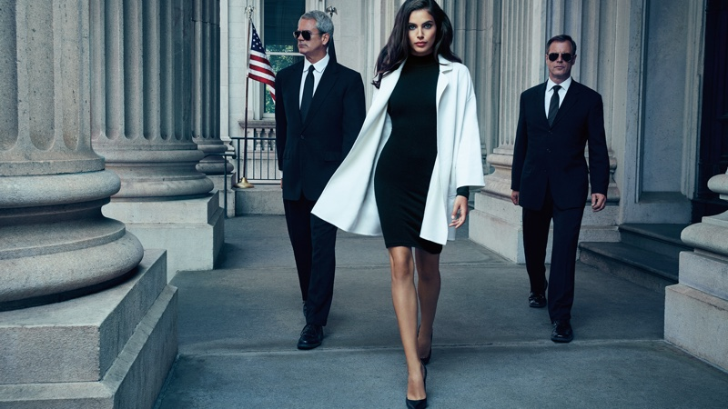 Elie Tahari features a female President in fall-winter 2016 advertising campaign
