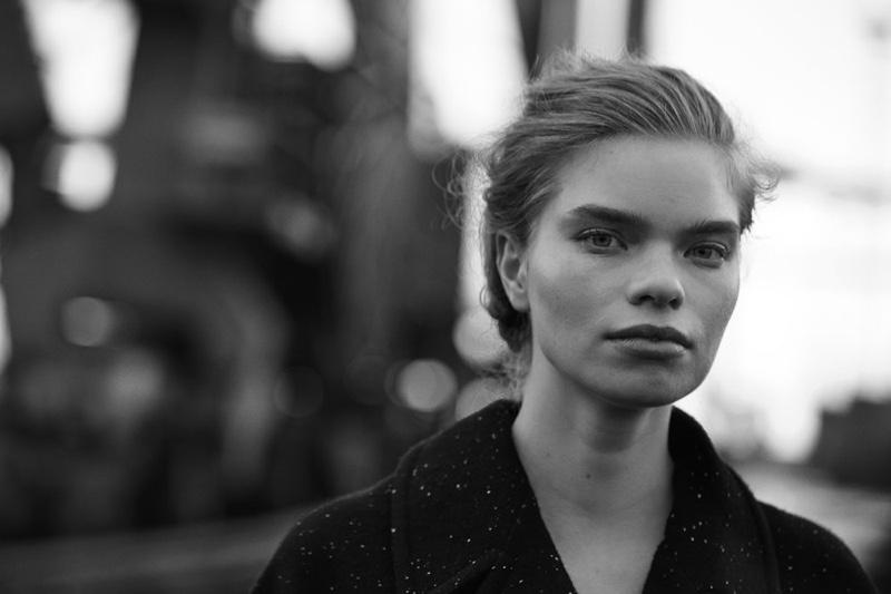 Elisa Hupkes poses for Vogue Netherlands