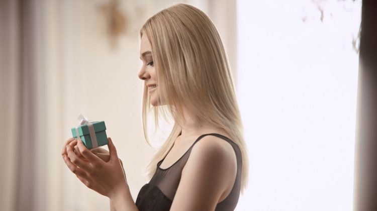 Elle Fanning Dazzles in Tiffany & Co. Holiday Commercial