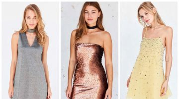 Sparkle & Shine: 9 Embellished Mini Dresses