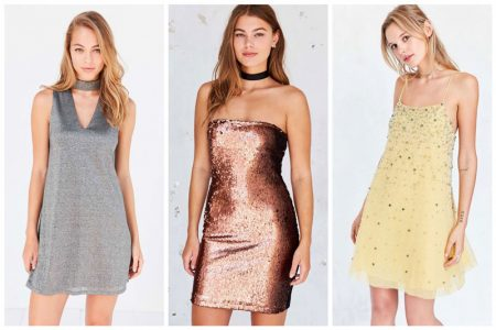 Sparkle & Shine: 9 Embellished Mini Dresses