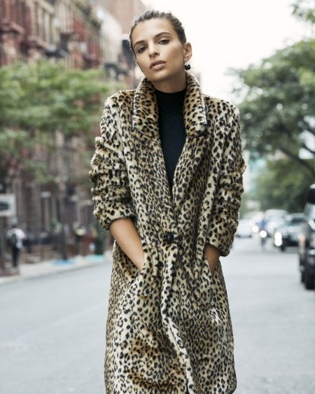 Emily Ratajkowski Looks Beyond Stylish in Express' New Arrivals