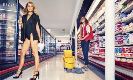Gwyneth Paltrow Shows Some Serious Skin in Harper's Bazaar