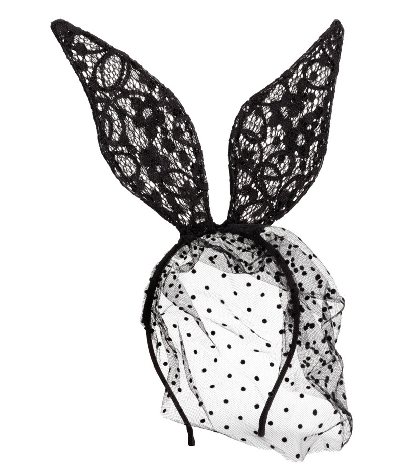 H&M Rabbit Hairband with Veil